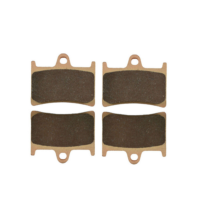 Motorcycle Brake Front & Rear Brake Pads Kit For YAMAHA XJR1300 XJR 1300 N/P /R/S/T/V/W/X 2001-2014 05 06 07 08 09 10 11 12 13