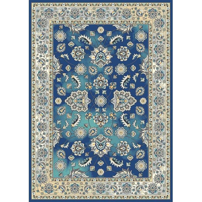 Tapis de Style persan de l'inde pour le salon 100% tapis de chambre à coucher en polypropylène et tapis tapis classique de tapis d'étude de dinde