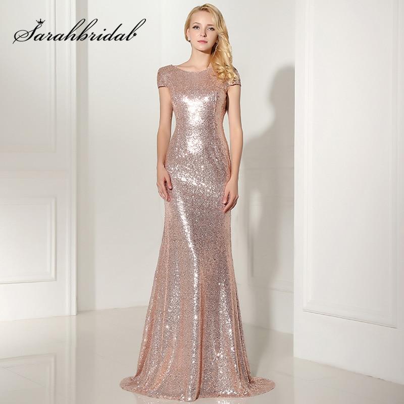 d93fc0be8bc Sexy V cuello largo blanco vestido de noche con alta división elegante  línea a mujer fuera