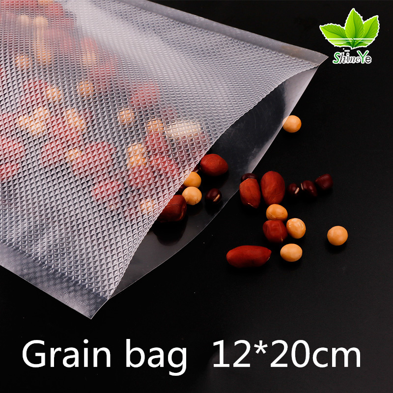 12*20cm/Piece Vacuum Bag Fresh - keeping Bag Food Preservation Bag Storage Bag 6 cm single joint sliding potentiometer b10k 8t handle
