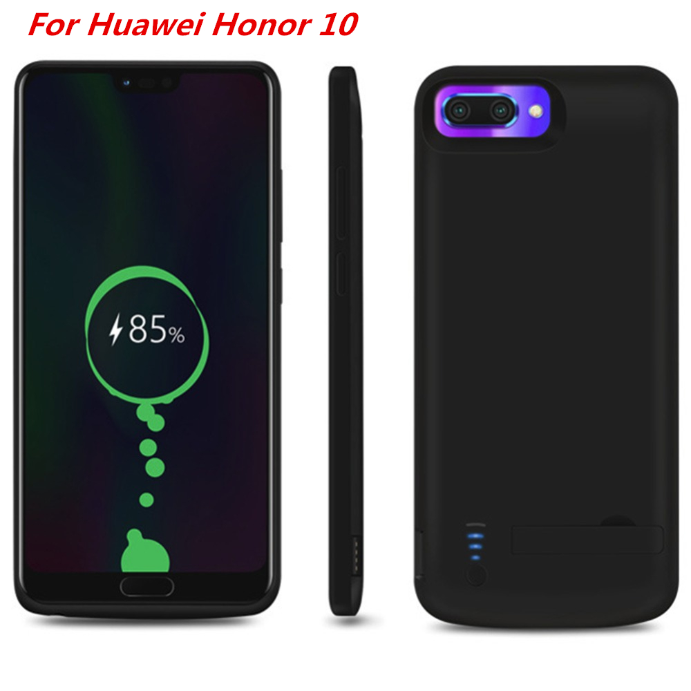 For Huawei Honor 10 Battery Case Charger Case 6500 Mah Smart Phone Cover Power Bank For Huawei Honor 10 Battery Case Capa