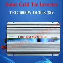 1KW DC 12V 24V to AC 220V/230V/240V Grid Power Inverter, Grid Tie Solar