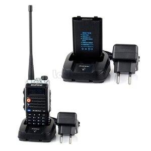 Image 4 - Baofeng UVB2 Plus UV B2 Twee Way Radio Dual Band Vhf/Uhf Walkie Talkie 128CH Interphone BF UVB2 Ham Cb Radio handheld Transceiver
