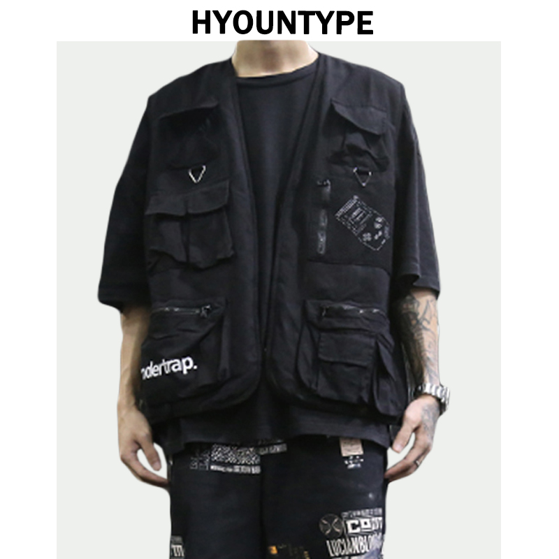 Luggage & Bags 2019 Hip-hop Kanye West Street Ins Hot Style Chest Rig Military Tactical Chest Bag Functional Package Prechest Bag Vest Backpack To Enjoy High Reputation In The International Market