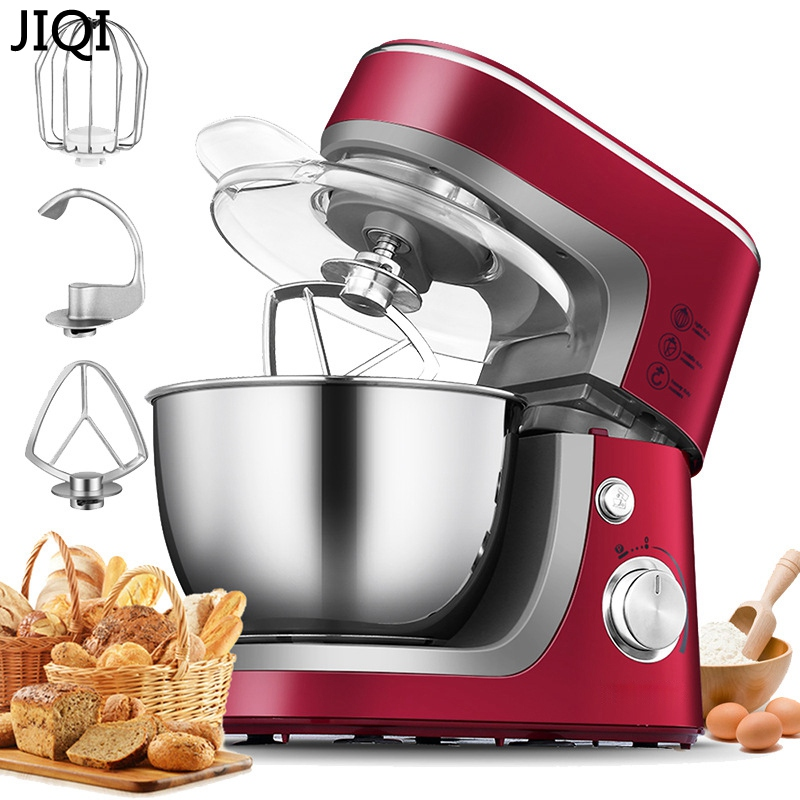 Electric Household chef machine stand food mixer 10 files,3.5 Liters,cooking mixer, egg beater, dough mixer machine commerc multifunctional food stand mixer 7l food mixer machine dough mixer machine planetary mixer