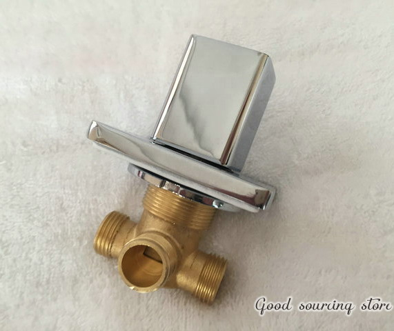 built-in water diverter valve for bathtub faucet, shower faucet accessory