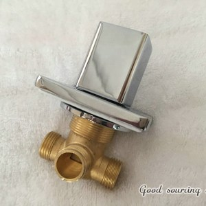 built-in water diverter valve
