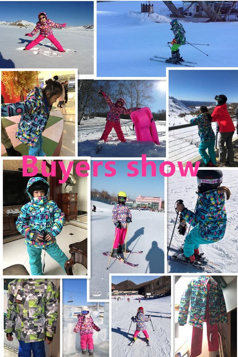 268f539ea 2019 Ski Jacket Boys Brands Snowboard Jacket Girls Winter Waterproof ...