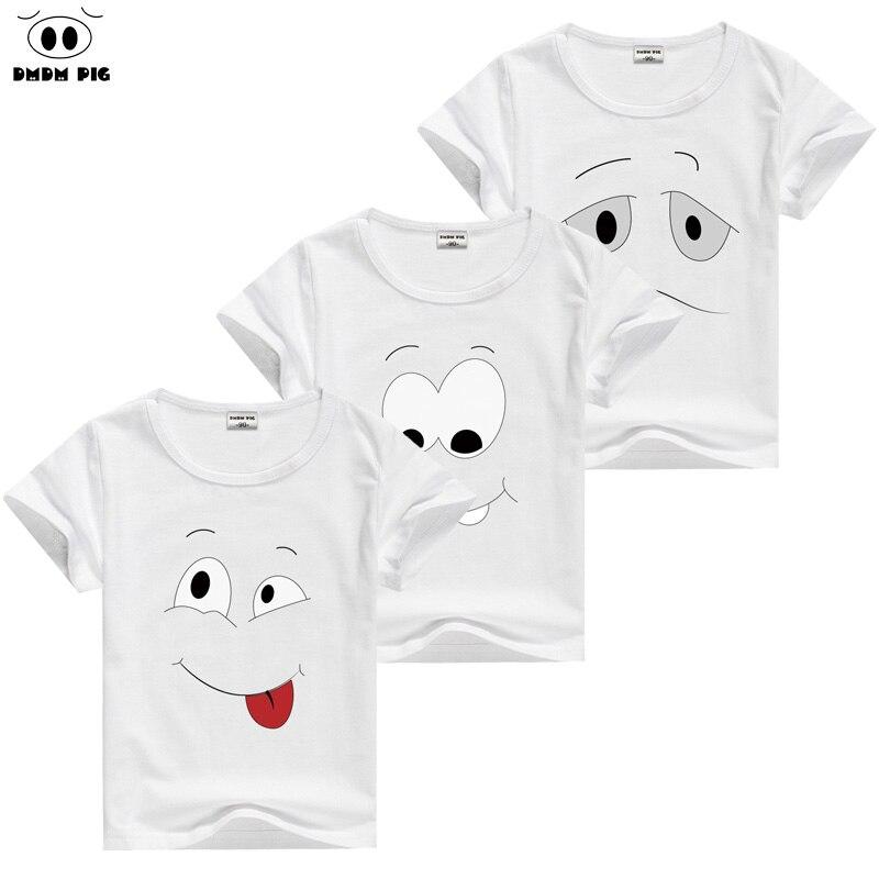 DMDM Pig/для маленьких мальчиков одежда для малышей Одежда для девочек футболки Забавная детская футболка детские футболки для девочек топы для мальчиков Размеры 7 8 9 10