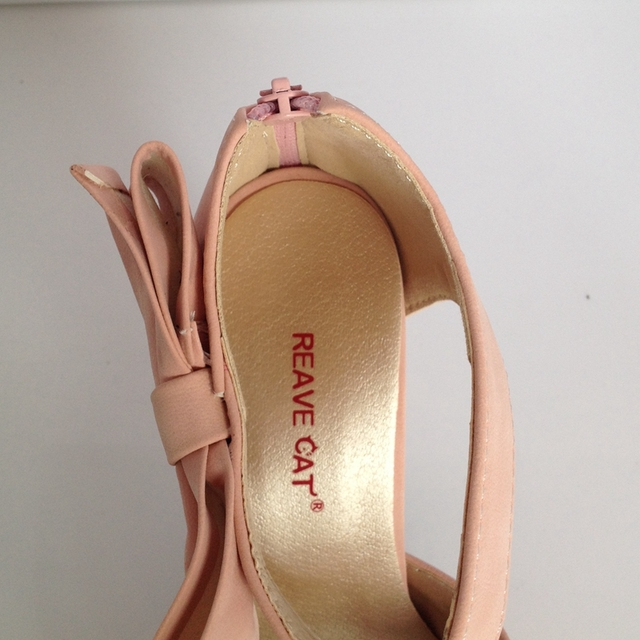 Peep Toe High Heel Platform Sandals