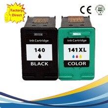 Российские чернила картриджи восстановленные для HP140 XL 141 HP140 HP141 Photosmart 4283 4483 4583 5283 5363 D5363 CB338H CB337H