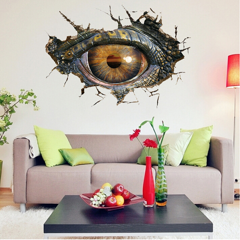 Exceptional Detail Feedback Questions About Kids Room Wall Decor 3d Dinosaur Eye  Stickers Adhesive Wall Arts For Baby Room Home Decor Children Wall Stikers  On ...