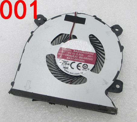 NEW FAN FOR Samsung Notebook 9 NP900X5N NT900X5V-A58A BAZA0605R5M 001 BA31-00169A BAZA0605R5M 002 BA31-00177A cooling fan