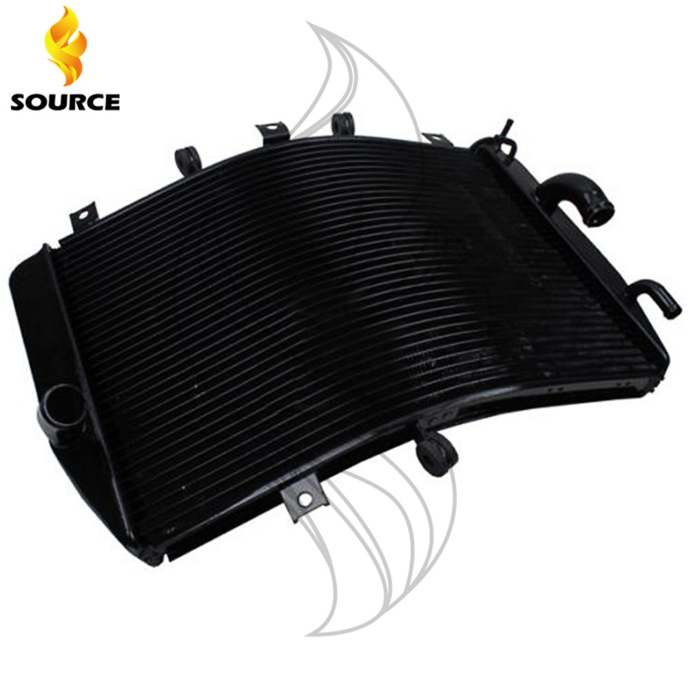 Motorcycle Oil Cooler Radiator Guard Grille Cover Protecter For KAWASAKI NINJA ZX10R ZX-10R 2006-2007 ob 616 wing shaped car side air flow decorative vent fender sticker black silver pair