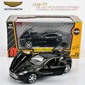 Оригинал Ящик 1:32 детские игрушки aston martin one-77 игрушки металла автомобили модели для детей вытяните назад автомобиль миниатюры подарки для мальчики