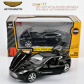Original Box 1:32 kids toys aston martin one-77 metal toy cars model for children pull back car miniatures gifts for boys