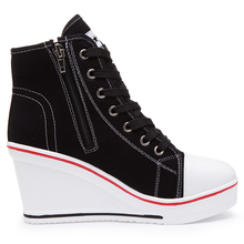 Women's Sneakers with Invisible Platform