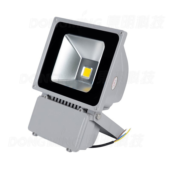 Beautiful 2017 HOT 35pcs/lot LED Flood Light Bulbs AC85 265V Led Spotlight 80W RGB