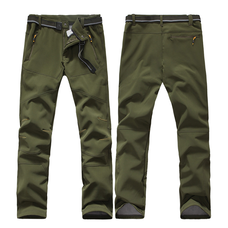 Trekking Men Sports Long Softshell Outdoor Pants Climbing Water Resistant Hiking Camping Trousers Pantalones Senderismo Hombre брюки женские billabong essential pant 2017 mauvewood xs