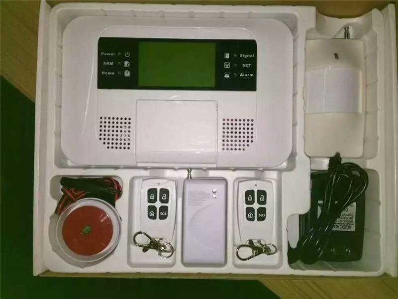 APP Remote Control Dual net GSM+PSTN burglar alarm system dual network gsm burglar alarm system mobile remote control