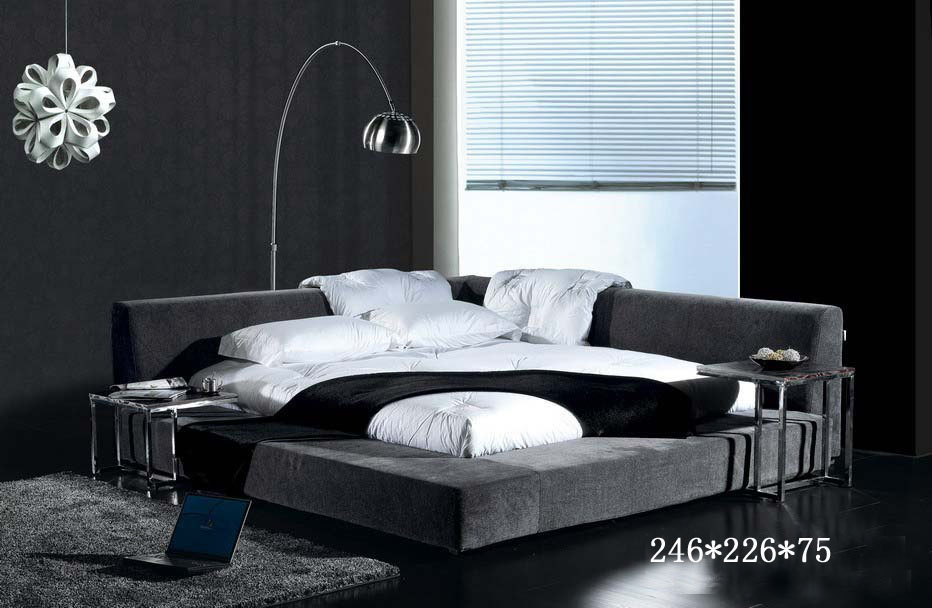 bedroom furniture modern bedroom furniture for queen bed furniture with fabric - Modern Queen Bed Frame