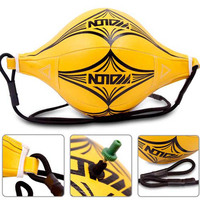 New Double End MMA Boxing Training Punching Bag Speed Ball Yellow