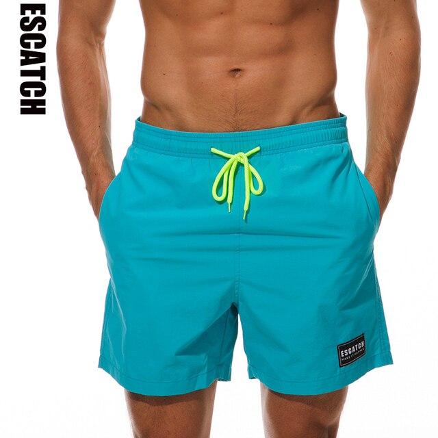 5a283cb3f3 Escatch nouveau Short de bain homme à séchage rapide été Short de surf  maillot de bain