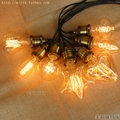 Lampada Lâmpada Retro Edison Lâmpada ST64 G95 Luz Bombilla Ampolas Do Vintage Decorativas Candelabro Incandescente G80 D80