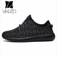 VIXLEO 2017 Superstar Giày Nam Giới Thường & Couple Giày Huấn Luyện Viên Lưới Lưới Không Khí Breathable Flats lace up Los Zapatillas hombres
