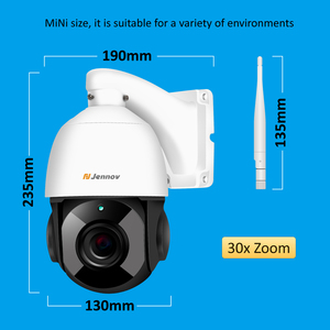 Image 5 - Jennov 1080 1080p 4.5 インチ 30Xズームptz cctvセキュリティスピードドームカメラビデオ監視ipカメラ屋外無線lan 2 ウェイオーディオonvif