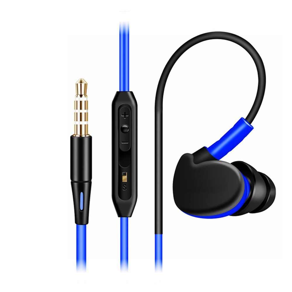 3.5mm sportowe do biegania słuchawki Stereo dla LG Volt słuchawki douszne zestawy słuchawkowe z mikrofonem zdalnego słuchawki z regulacją głośności