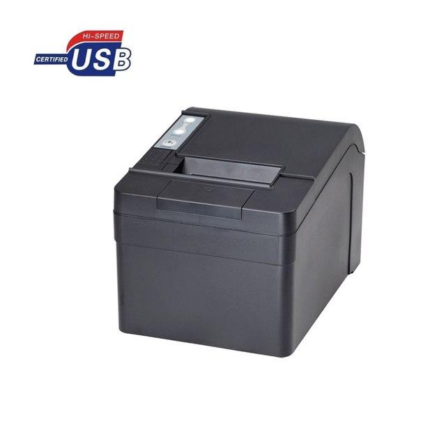 Windows10 USB тепловая чековый принтер pos 58 мм с резак печатная машина высокая скорость большая шестерня HS-T58KUC билл принтера