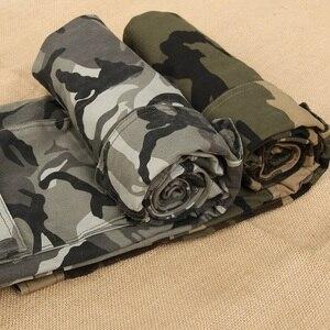 Image 5 - 2020 outono nova camuflagem calças de carga dos homens alta qualidade moda casual em linha reta algodão marca tático masculino
