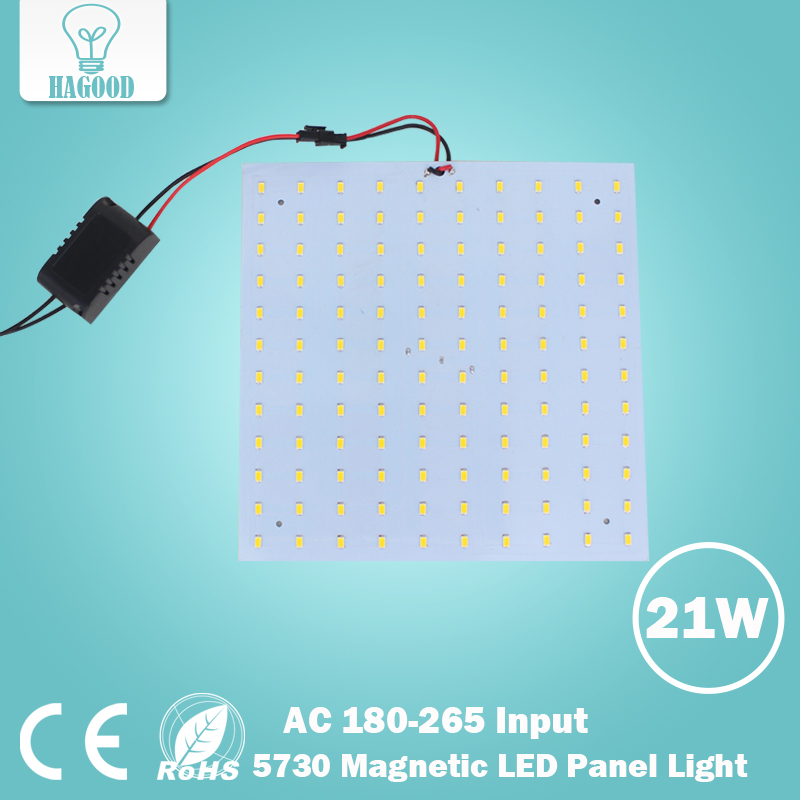 21W SMD5730 LED Ceiling Light Bulb LED Panel Lampsr Input 180-265V Square Quadrate  Chandelier 1195mm 145mm led panel light 21 8w dc24v input