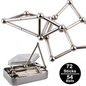 Metal Magnets Cube Magic Build