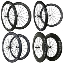 R36 38mm 50mm 60mm 88mm carbon wheels 700c road bike carbon bicycle wheels tubular clincher tubeless carbon wheelset soloteam(China)