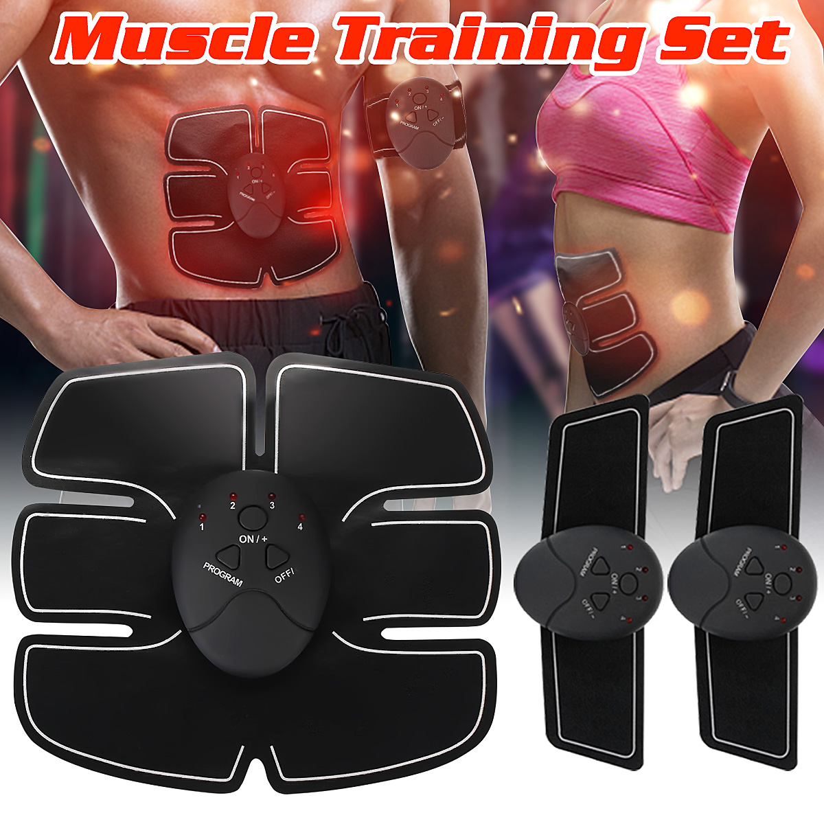 Sixpad Smart ABS Muscle Arm Waist EMS Training Gear Body Exerciser Simulation Abs Fit Muscles Intensive Training sixpad smart abs muscle arm waist ems training gear body exerciser simulation abs fit muscles intensive training