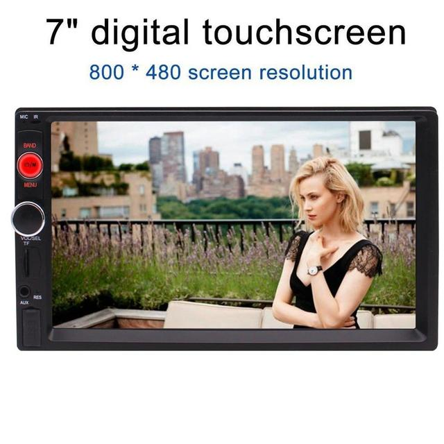 Eincar Double 2 Din Headunit Double din Stereo MP5 Play 7'' in Dash Support USB/SD/AUX input/Bluetooth/FM Radio Stereo Mutimedia