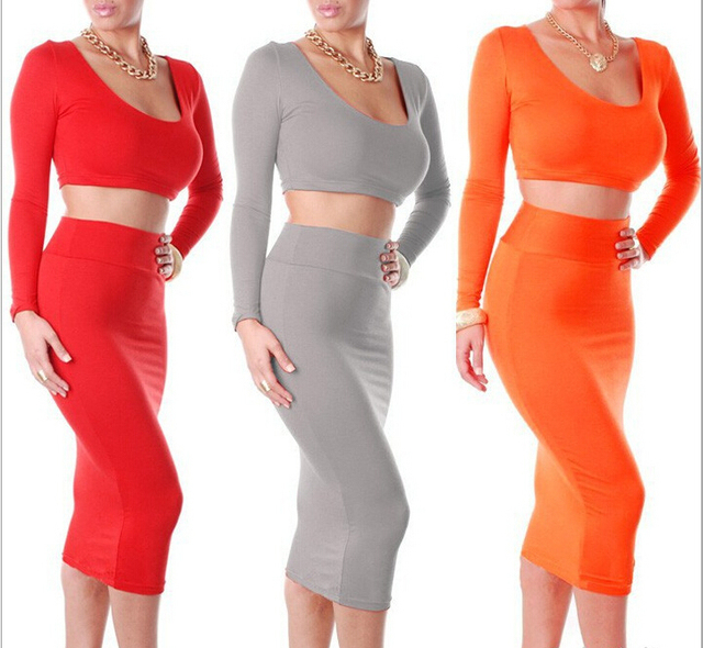 8ef2eafc36 US $16.99 |2014 Hot Sale Wholesale Clothing American Apparel Cheap Clothes  China Sexy Club High Waisted Two Piece Outfits Bodycon Dress-in Dresses ...