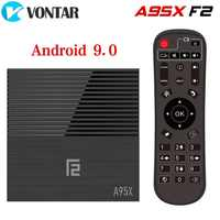 VONTAR A95X F2 4GB 64GB Smart TV Box Android 9.0 Amlogic S905X2 Support 1080p 4K 60fps Google Play Store Netflix Media Player