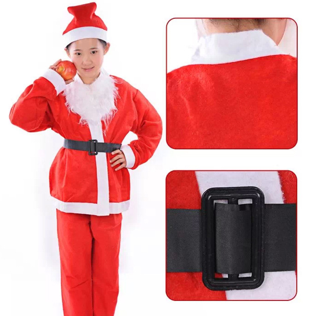 Costume Clothes Christmas Santa Suit Kids Dresses Girls For Christmas New Year Clothes Children Clothes Santa Costumes Clothing
