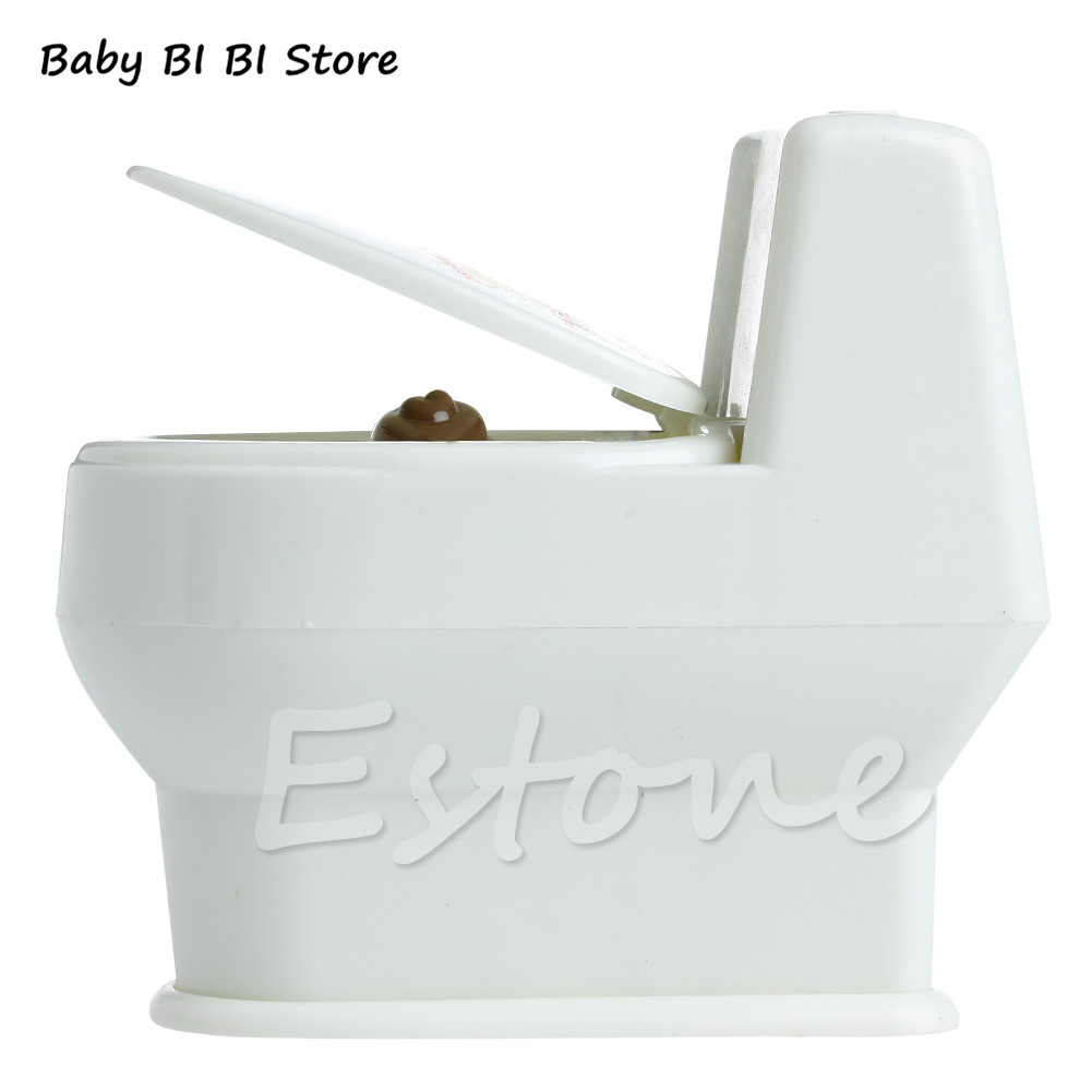 Miniature Furniture For Dolls Mini Interesting Funny Toilet Bowl Supernatural Water Gun Toy For Kids Children