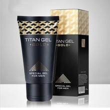 Original Titan Gel Gold Penis Enlargement Cream Increase Male's Potence Enhancement Sex Products for Adults Aphrodisiac for Men