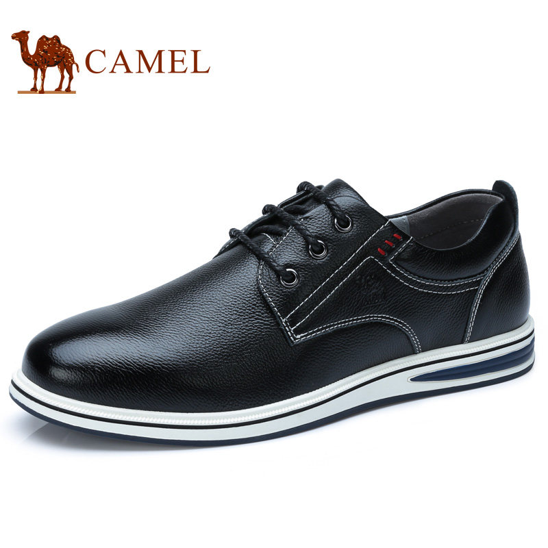 Camel Mens Shoes 2018 Spring Fashion Daily Casual Leather Shoes Wear-resistant Breathable Lithe A812266390