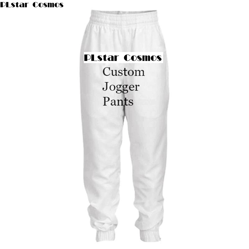 PLstar Cosmos Jogger pants 3D Print Diy Custom Design Mens Womens Hip Hop pants Drop Shipping Wholesalers Suppliers For Dropship