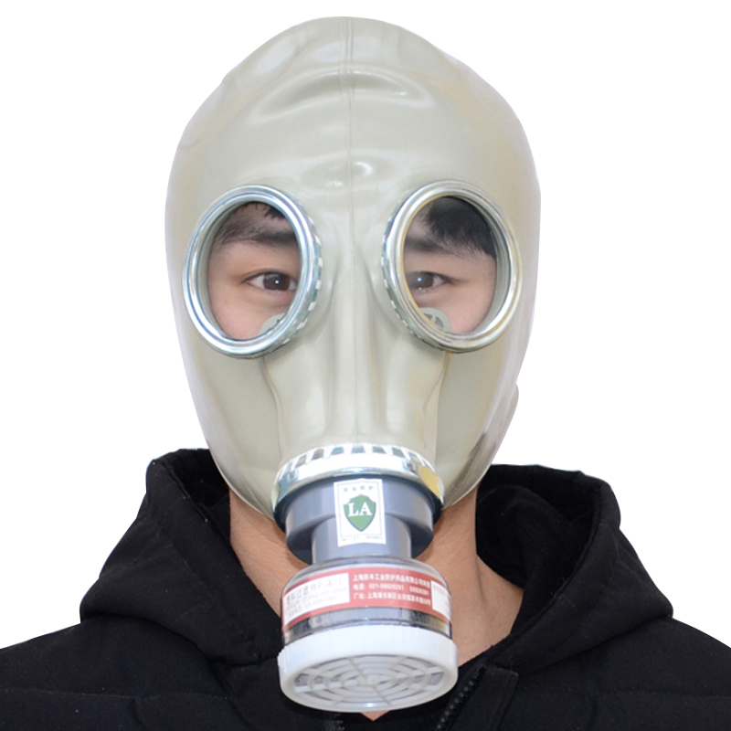 Gas mask Respirator Industrial-safety Full Face Rubber mask With Filter cartridge Anti Organic Gases And Vapors Protective Masks new safurance protection filter dual gas mask chemical gas anti dust paint respirator face mask with goggles workplace safety