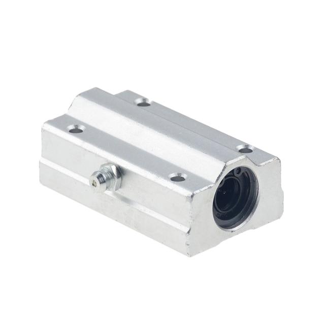 4 stks/partij SC12LUU SCS12LUU 12mm lange type Linear Ball Bearing Block CNC Router met LM12LUU Bush Kussen Blok Lineaire as CNC 3D