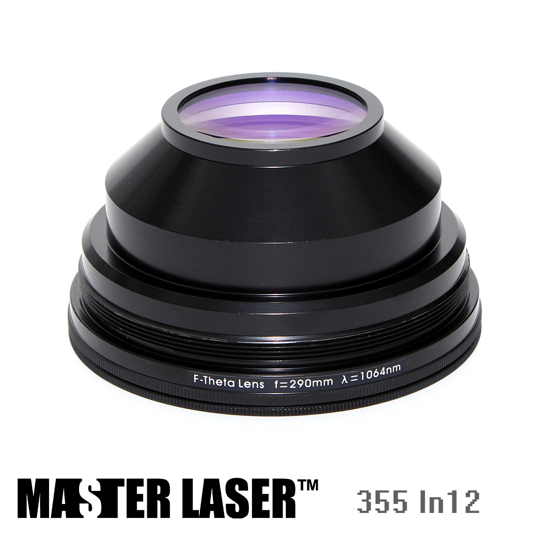 Best Price 355nm UV Laser Marking Machine Lenses scanning Objective Lens Scanning Lens