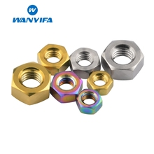 Wanyifa Ordinary Hex Nut M5 M6 M8 for Bicycle Brake Motorcycle Part