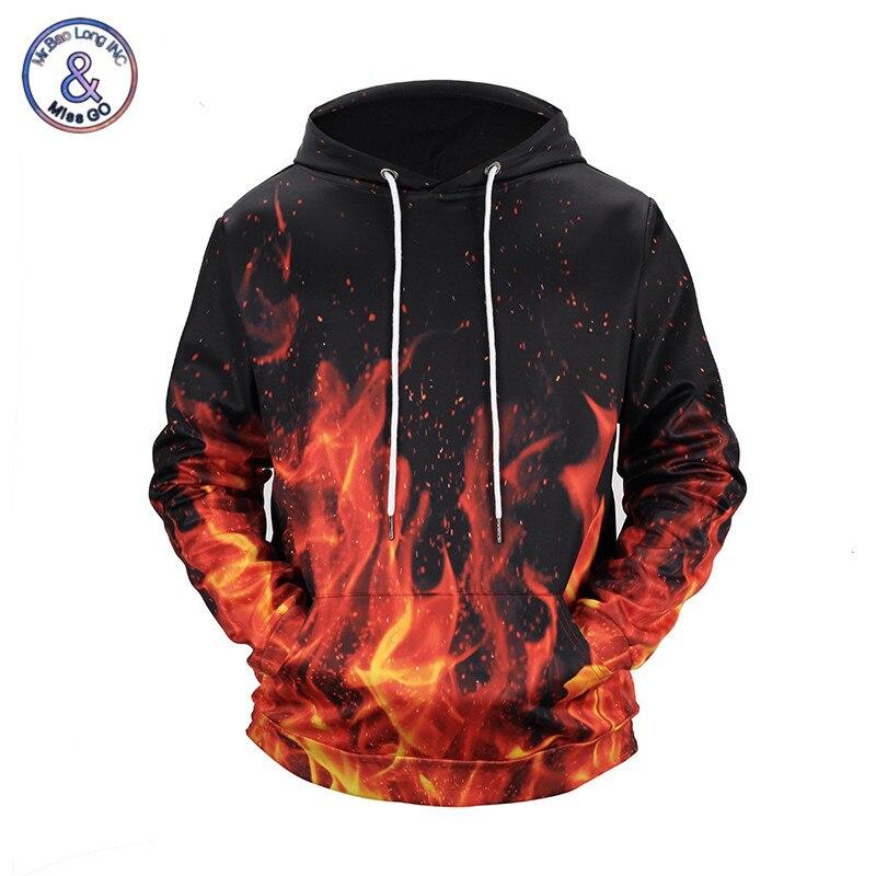 Compra flames sweatshirt men hoodie y disfruta del envío gratuito en  AliExpress.com a435e40c1e76